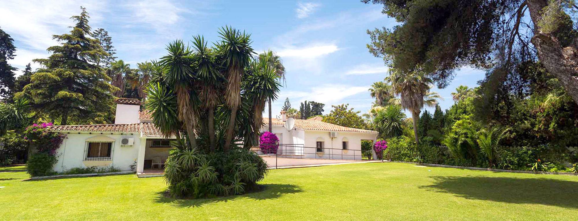 Drug Rehab Center in Marbella - Garden