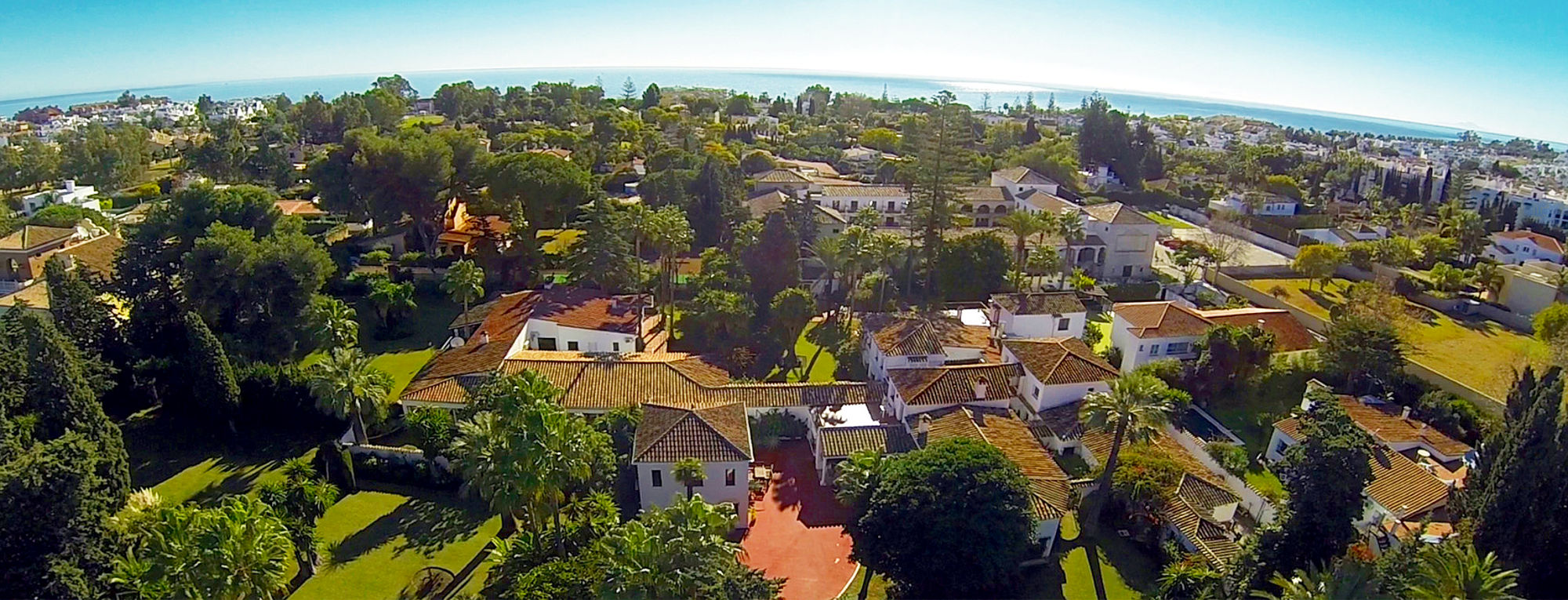 Drug Rehab Center in Marbella - Aerial View